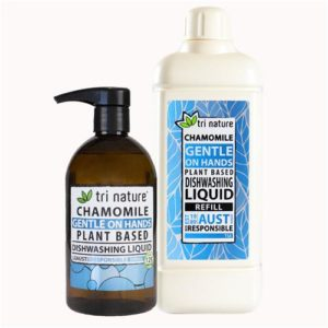 Tri Nature Chamomile Dishwashing Liquid Duo