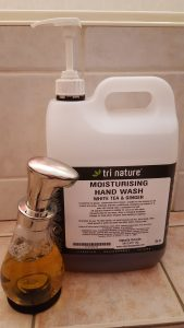 Moisturising Hand Wash and Foam Pump